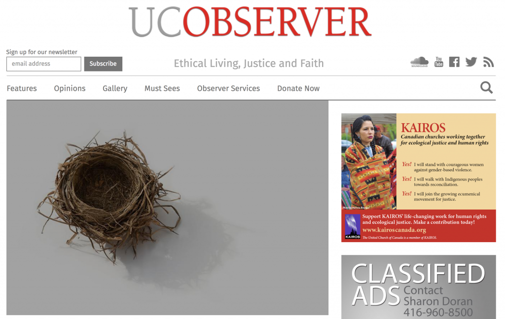 UC Observer Article